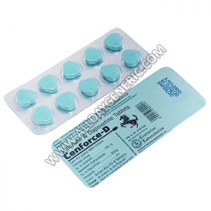 sildenafil citrate and dapoxetine tablets (Cenforce D) - Sildenafil Cost
