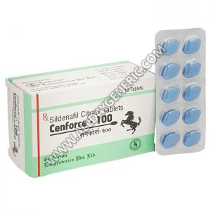 Cenforce 100 mg, Sildenafil citrate 100mg