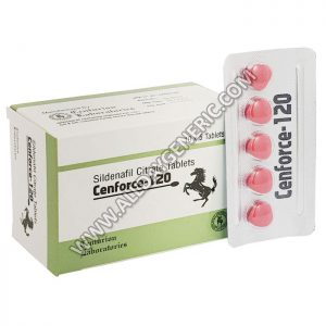Cenforce 120 mg, Sildenafil 120mg