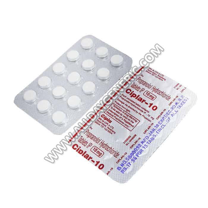 Ciplar 10 mg (Propranolol)