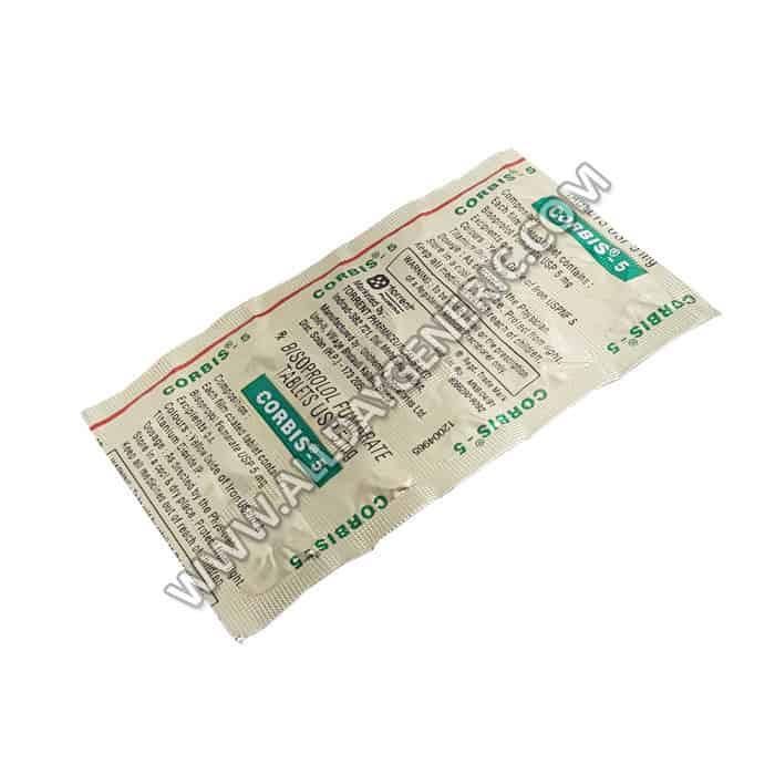 Bisoprolol 5mg | Corbis 5 mg (Bisoprolol)