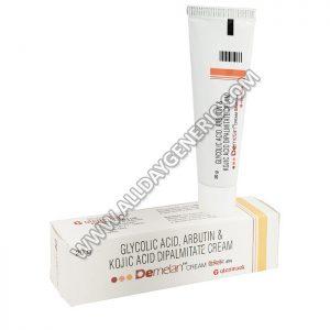 Demelan Cream, Glycolic Acid, Arbutin, Kojic Acid