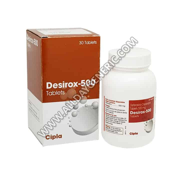 Desirox 500 (Deferasirox)