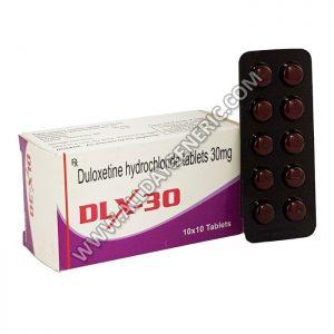 Duloxetine Generic, DLX 30, Duloxetine 30 mg