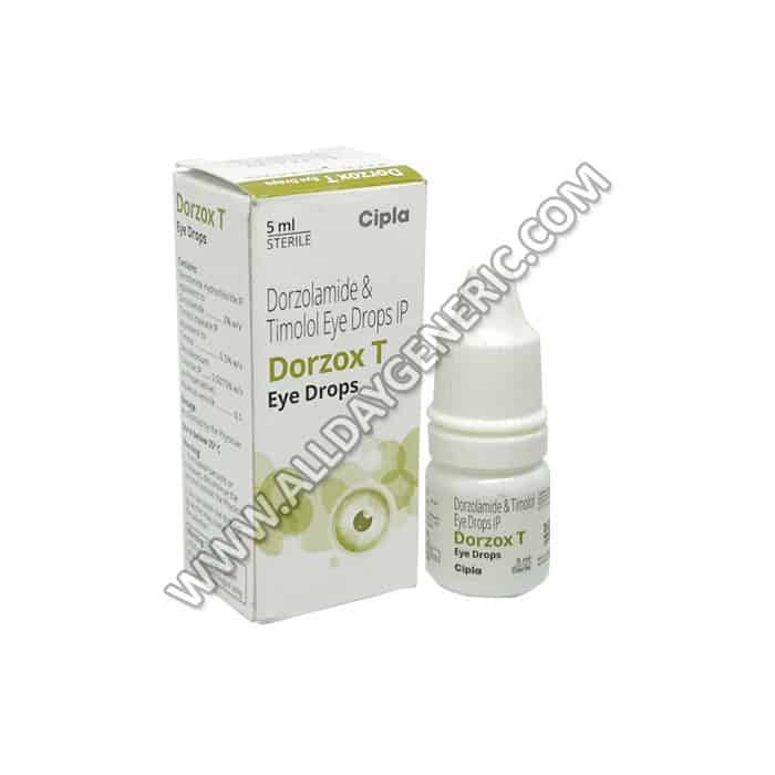 Dorzolamide Timolol (Dorzox T Eye Drop)