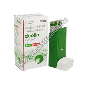 Duolin Inhaler (Levosalbutamol / Ipratropium), Ipratropium inhaler