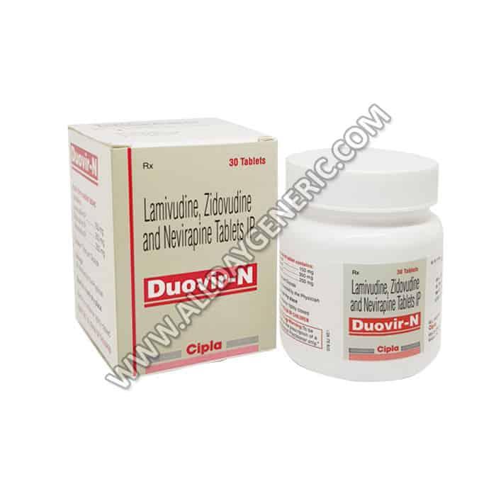 Duovir N (Lamivudine / Zidovudine / Nevirapine)