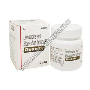 Duovir Tablets (Lamivudine / Zidovudine)