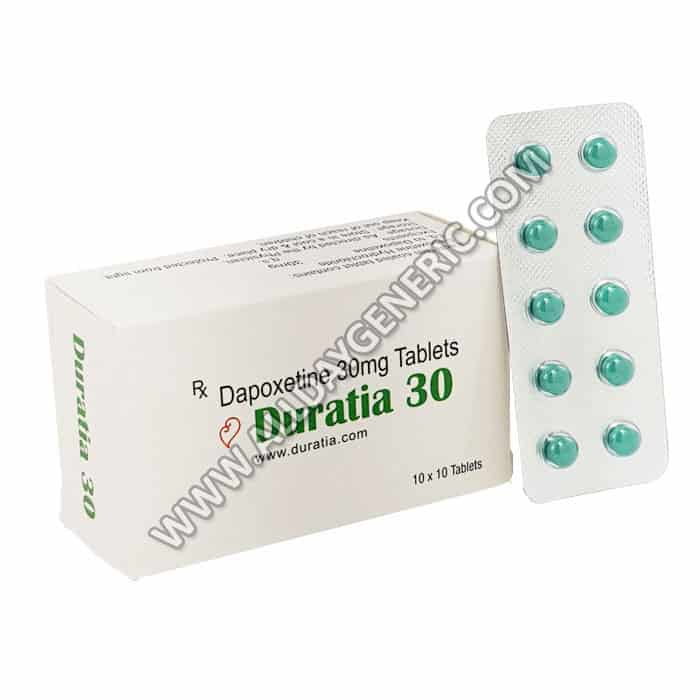 duratia 30 mg, Dapoxetine 30 mg