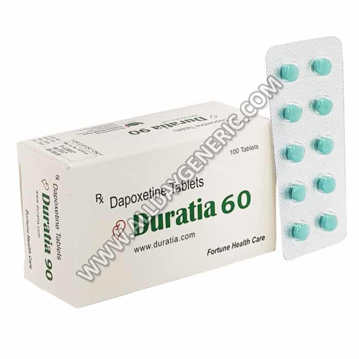 duratia 60 mg, Dapoxetine 60mg