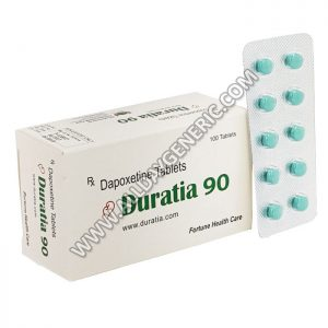 Duratia 90 mg, dapoxetine hcl, dapoxetine price usa