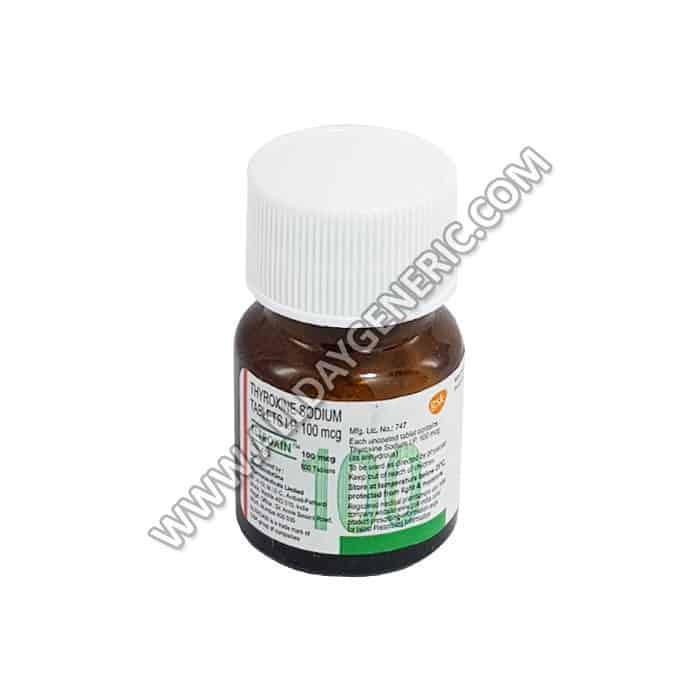 Eltroxin 100 mcg, Levothyroxine 100 mcg