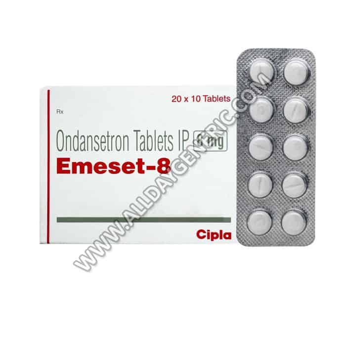 Emeset Tablet (Ondansetron 8mg)