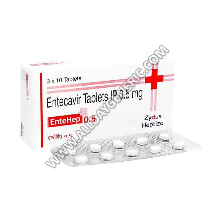 Entehep 0.5 mg (Entecavir tablets 0.5 mg)