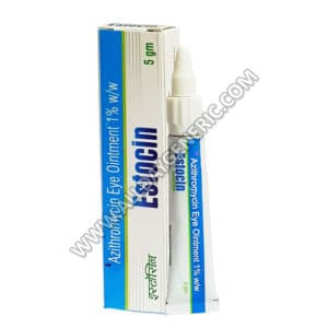 Azithromycin eye ointment (Estocin eye ointment)