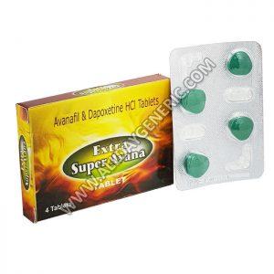Extra Super Avana, Avanafil, Dapoxetine