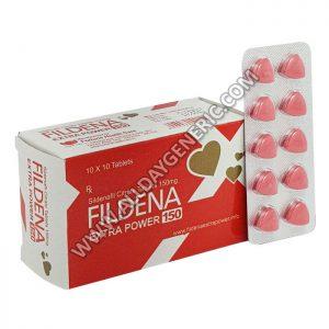 Fildena 150 - fildena extra power 150 mg (Sildenafil 150mg)