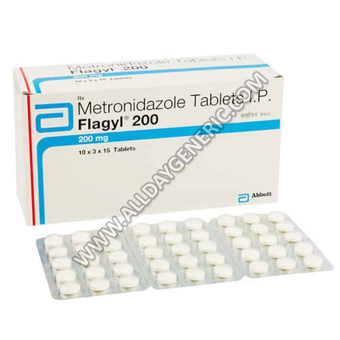 Flagyl | Flagyl 200 mg (Metronidazole 200mg)