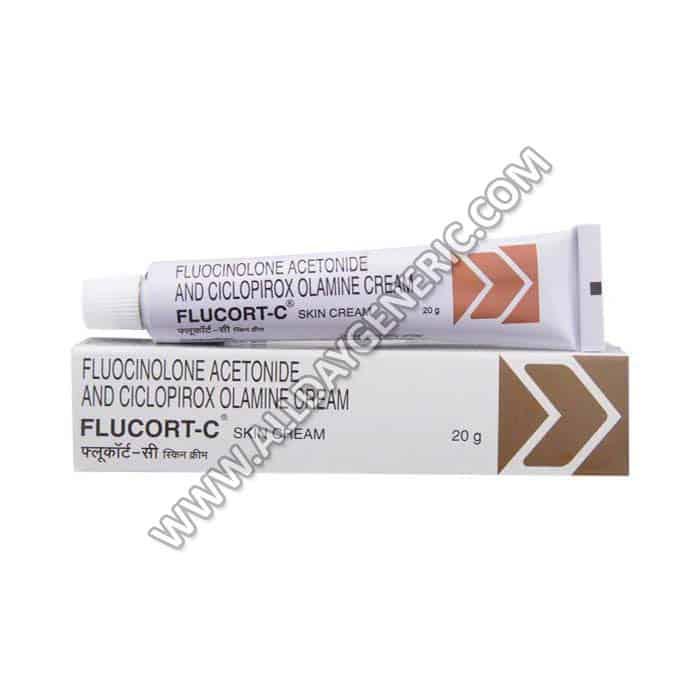 Flucort C Cream (Fluocinolone Ciclopirox)