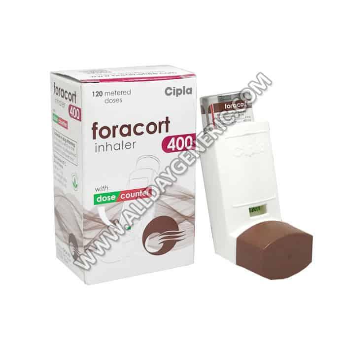 Foracort inhaler 400 | Foracort Inhaler 400 (Budesonide, Formoterol)