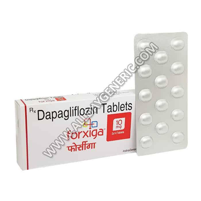 Forxiga 5 mg, Dapagliflozin 10 mg