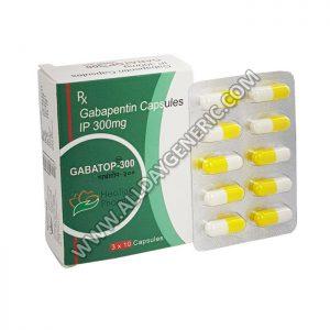 Gabatop 300 mg Capsule (Gabapentin 300mg)