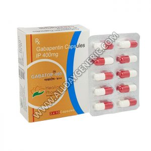 Gabatop 400 mg, Gabapentin 400 mg, Buy Gabapentin UK