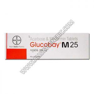 glucobay m 25 (acarbose 25)