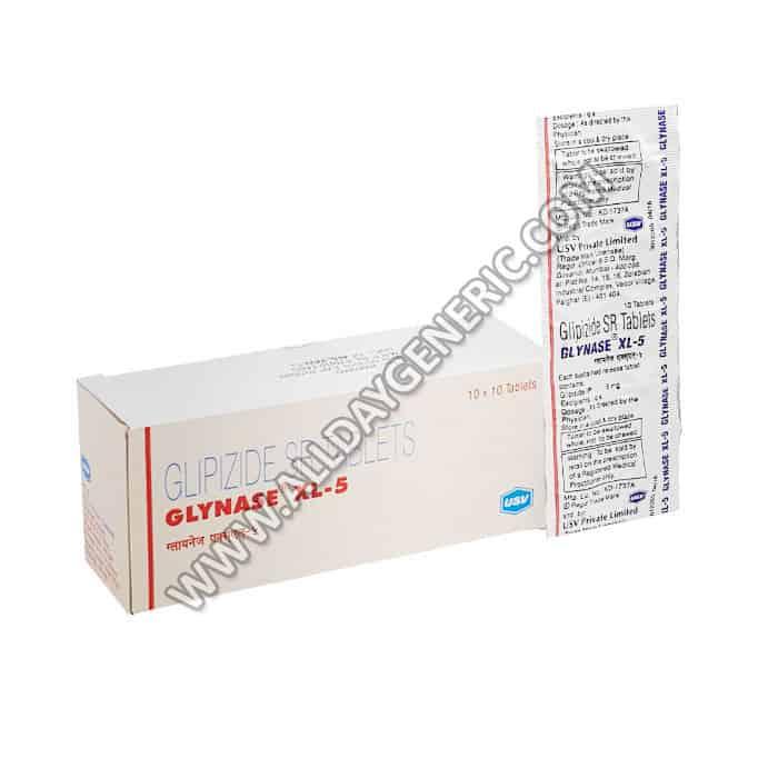 Glynase XL 5 (Glipizide)