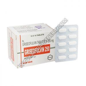Griseofulvin 250 mg (Griseofulvin)
