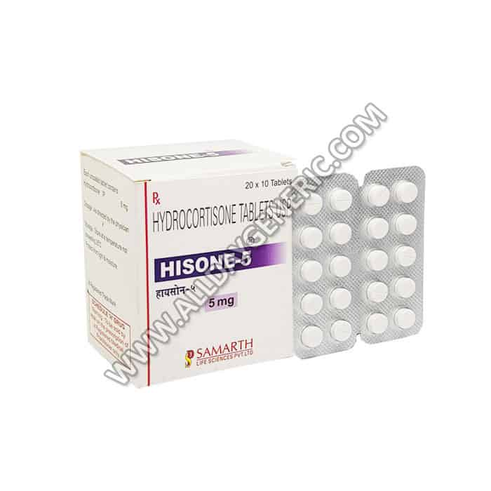 Hisone 5 mg (Hydrocortisone)