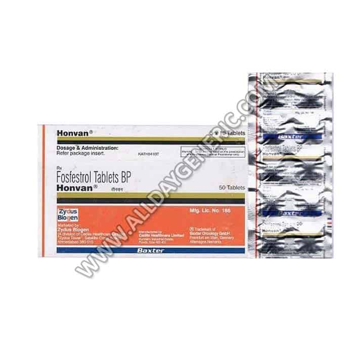Honvan 120 mg Tablet(Fosfestrol)