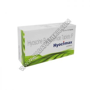 Hyocimax 10 mg Tablet(Hyoscine Butylbromide)