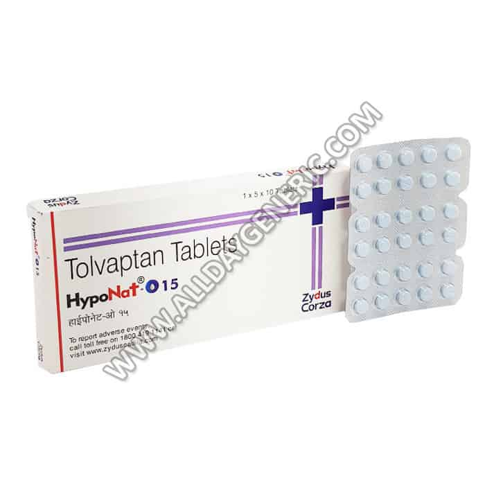 Hyponat O Tablet, Tolvaptan 15 mg