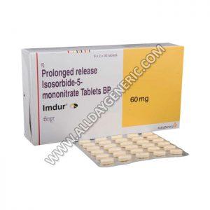 Imdur 60 mg (Isosorbide Mononitrate 60mg)