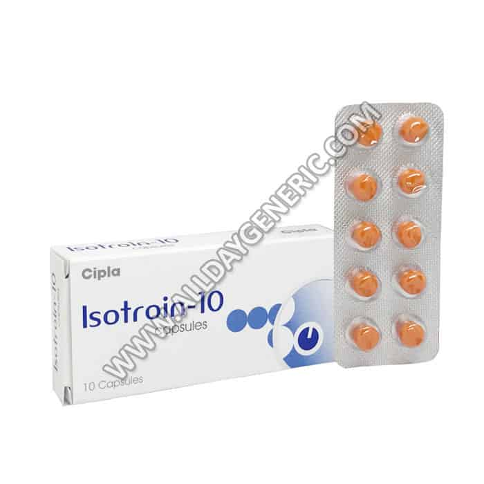 Isotroin 10, Isotretinoin 10 mg