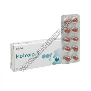 Isotroin 5, Isotretinoin Reviews, Isotretinoin 5 mg