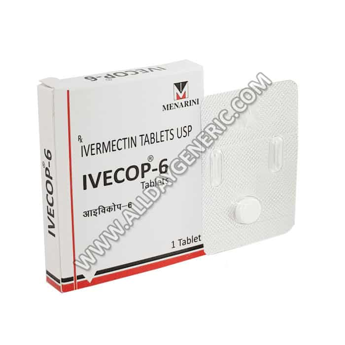 Ivecop 6, ivermectin 6 mg
