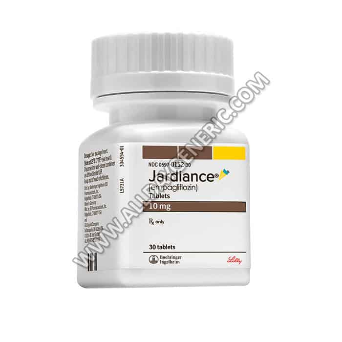 Jardiance 10 mg Tablet, Empagliflozin 10 mg