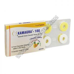 kamagra polo (Sildenafil Chewable) blue pill, Kamagra 100 Chewable Tablet