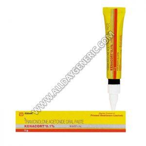 Kenacort Oral Paste, Triamcinolone 0.1, Kenacort