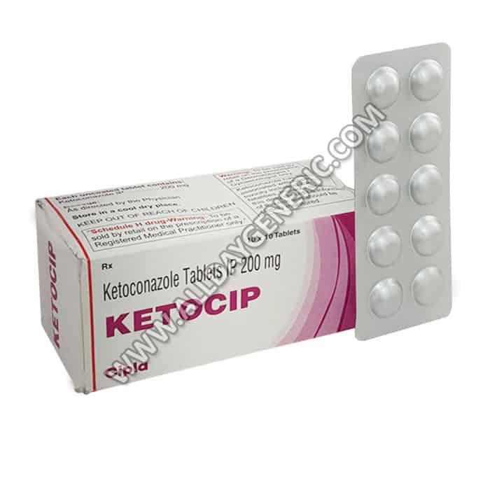Ketocip (Ketoconazole 200mg Tablet)