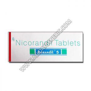 Korandil 5 mg Tablet(Nicorandil)