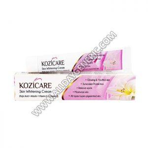 Kozicare Cream(Kojic Acid / Arbutin / Vitamins)