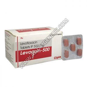Levoquin 500 mg(Levofloxacin)