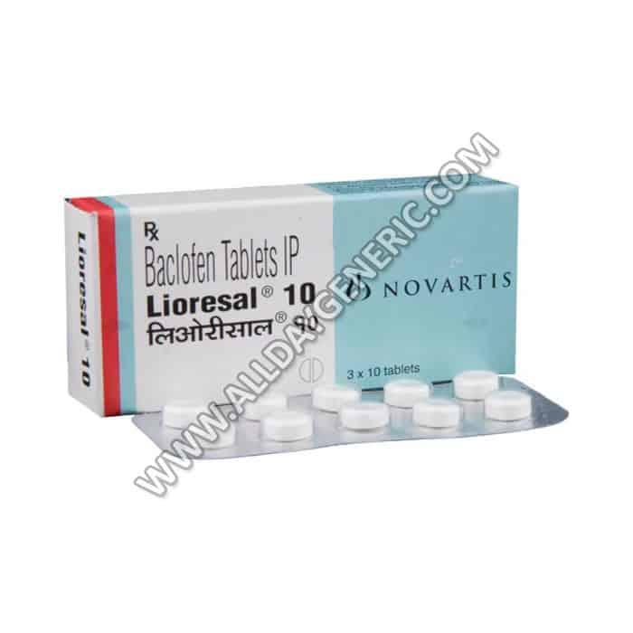 Lioresal 10 mg (baclofen 10mg)