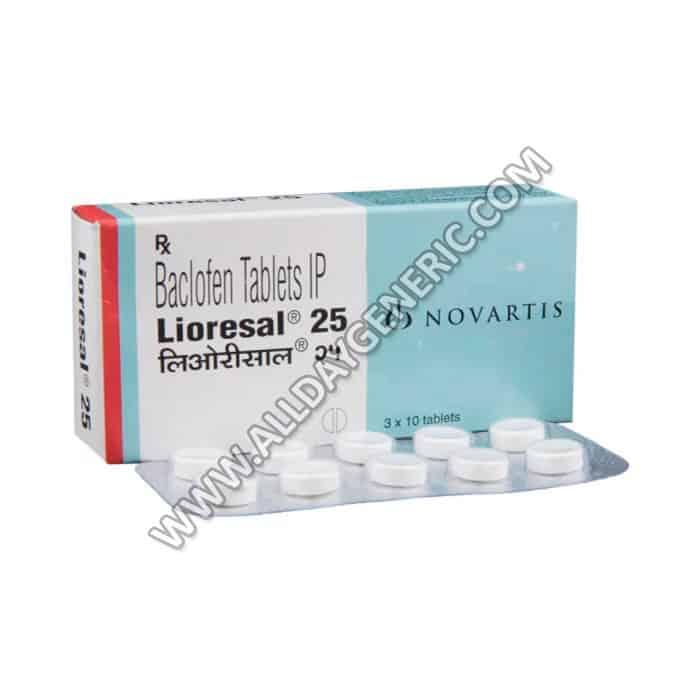 Lioresal 25 mg Tablet(Lioresal)