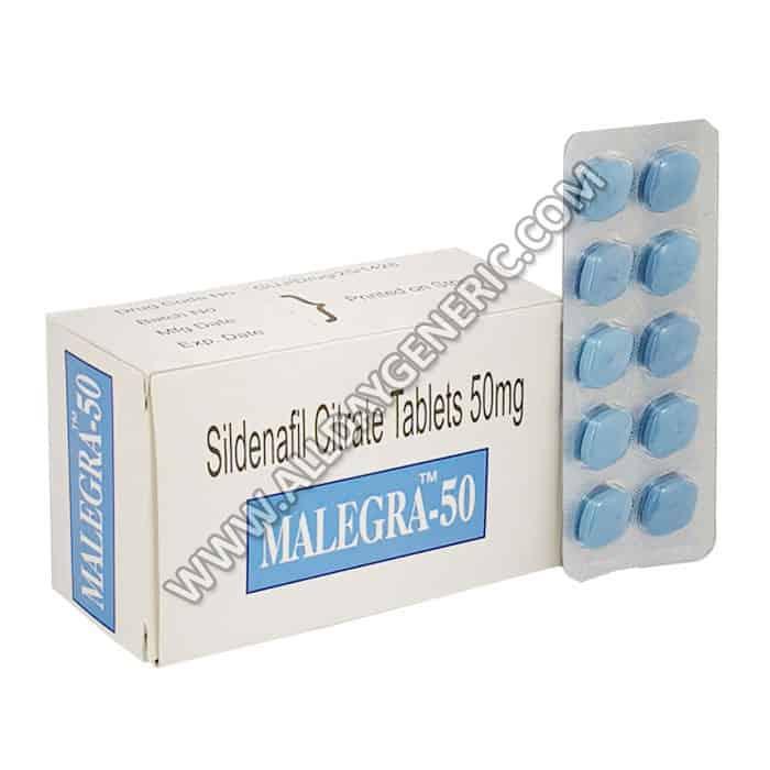 sildenafil 50 mg tablet (malegra 50)