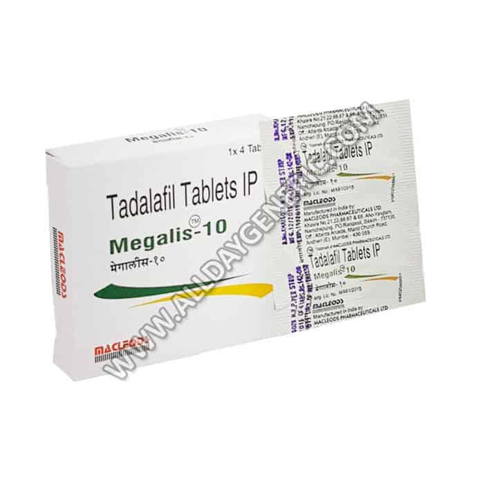 Megalis 10 mg (Tadalafil Generic)