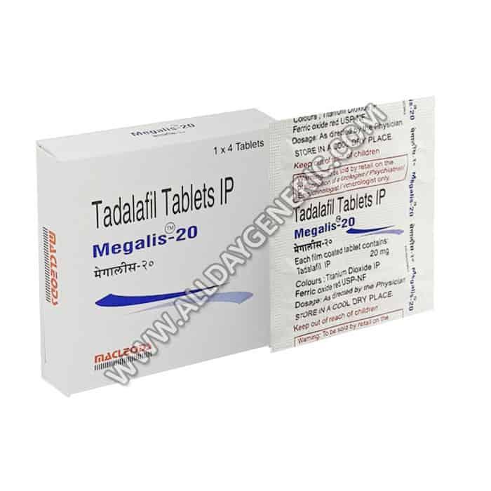 Megalis 20, Tadalafil online, Megalis